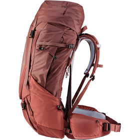 deuter Futura Air Trek 55 + 10 SL Backpack Women, rood